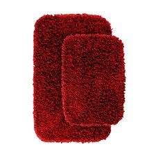 Jazz Shaggy Bath Rug (Set of 2)