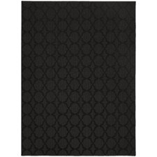 Magic Odor Eliminating Black Sparta Rug