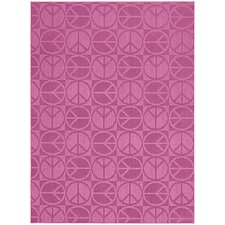 <strong>Garland Rug</strong> Magic Odor Eliminating Pink Large Peace Rug