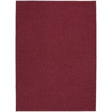 Magic Odor Eliminating Chili Red Town Square Rug