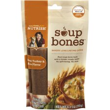 Soup Bones Turkey Dog Treats (8-Pack)