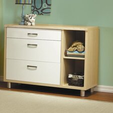 Milano 3-Drawer Dressing Chest