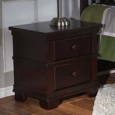 Torino 2 Drawer Nightstand