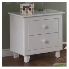 Gala 2 Drawer Nightstand