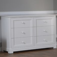 Aria Double 6 Drawer Dresser