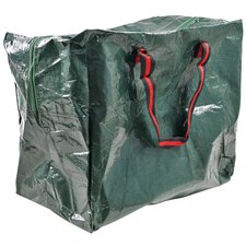 Woven Zipper Storage Tote Bag