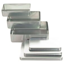 Piece Aluminum Storage Box (Set of 3)