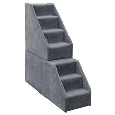 Bear's Stairs™ Mini Carpeted 7 Step Pet Stair