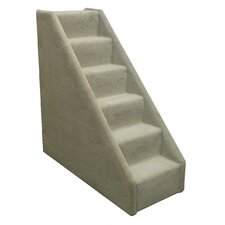 Bear's Stairs™ Six-Step Mini Carpeted Pet Stairs