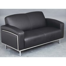 Moonstone Bonded Leather 2 Seater Sofa