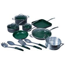 16-Piece Nonstick Cookware Set