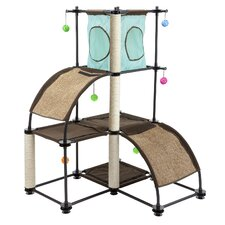 Kitty City Steel Claw Scratch Tower