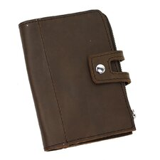 "<strong>Vagabond Traveler</strong> 7.5"" Clutch Passport ID Card Cash Zipper Holder"