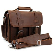 Medium CEO Leather Briefcase and Backpack