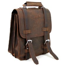Full Leather Sport Motor Travel Backpack