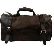 Leather Overnight Travel Duffel