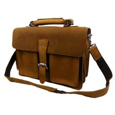 Leather Messenger Briefcase
