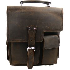 <strong>Vagabond Traveler</strong> Professional Leather Laptop Briefcase