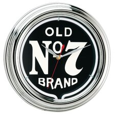 Old No. 7 Neon Clock