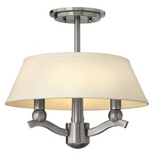 Whitney 3 Light Invert Hall Pendant
