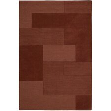 <strong>Calvin Klein Home Rug Collection</strong> Bowery Paprika Step Rug