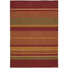 <strong>Calvin Klein Home Rug Collection</strong> Plateau Madder Rug
