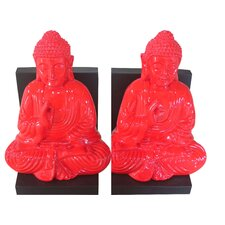 Buddha Book Ends (Set of 2)