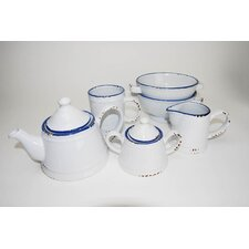 Enamel 15 Piece Coffee Set