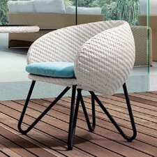 <strong>100 Essentials</strong> Circle Dining Arm Chair with Cushion