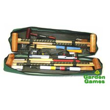 Longworth 4 Player Croquet Set with a Tool Kit Bag