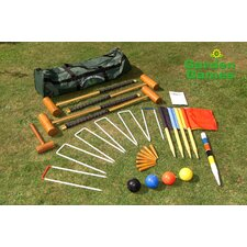 Longworth 4 Player Croquet Set in a Bag