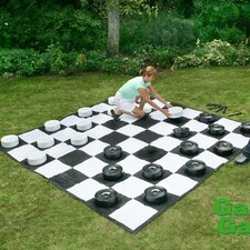 Giant Draughts Set