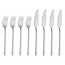 <strong>solex</strong> Helena 8 Piece Fish Flatware Set