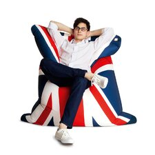Fashion Bull God Save the Queen Bean Bag Lounger