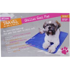 Medium Chillax Cool Pad Dog Bed