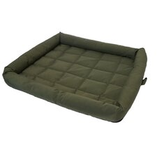 40 Winks Water Resistant Mattress Dog Bed in Green