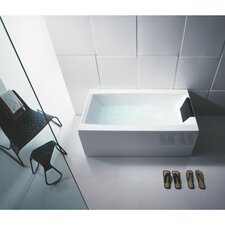 "<strong>Glass by Nameeks</strong> Eden 59"" x 27.5"" Bathtub"