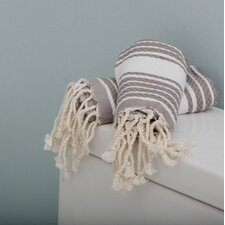 Fouta Honeycomb Weave Stripe Towel