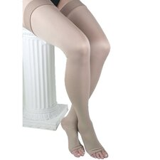 Microfiber Unisex Thigh High-Compression 25-35 mmHg