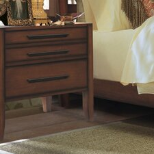 <strong>Brazil Furniture Group</strong> Dusk 3 Drawer Nightstand