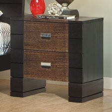 <strong>Brazil Furniture Group</strong> Geranium 2 Drawer Nightstand