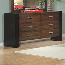 Geranium 6 Drawer Dresser