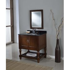 "Mission Turnleg Spa 32"" Single Bathroom Vanity Set"