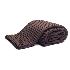 Pleated Knit Throw