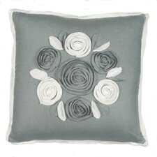 Churchill Linen Roses Pillow