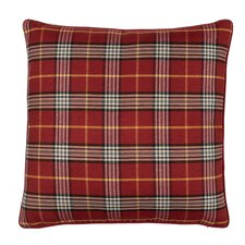 Mason Plaid Cotton Pillow
