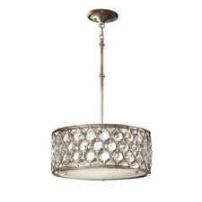Lucia 3 Light Drum Pendant