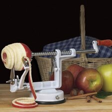 <strong>Universal Housewares</strong> Apple Peeler with Suction Cup Base