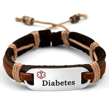 Diabetes Medical ID Bracelet