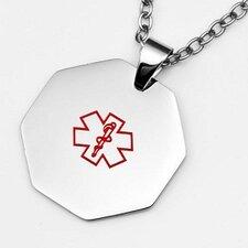 Octagon Medical ID Pendant